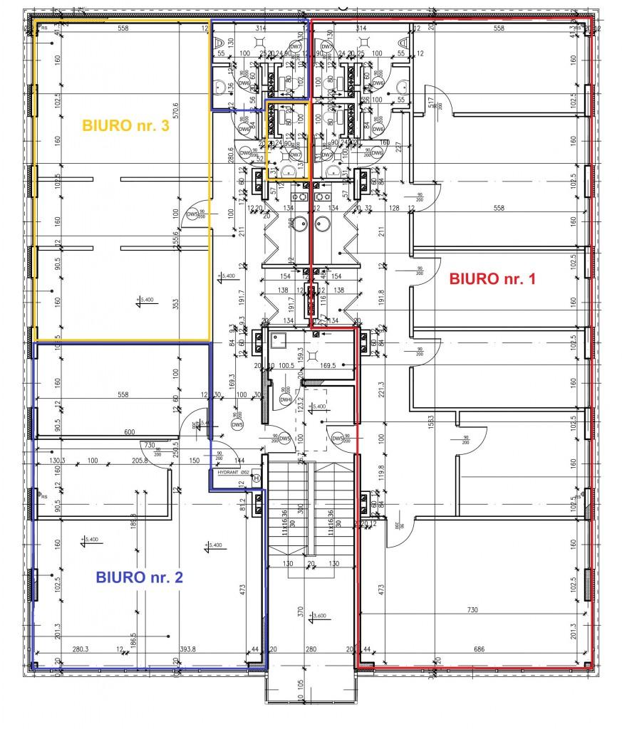 B1 plan biura
